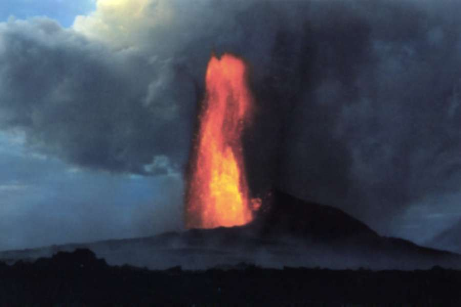 Figure 3 - The Kilauea Volcano