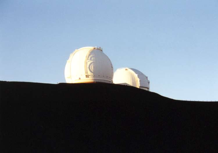 Figure 6 - The twin Keck Telescopes