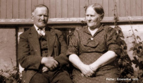 Petter and Emerentse 1935.jpg